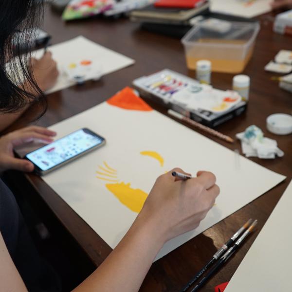 Learn The Technique of Gouache Paint