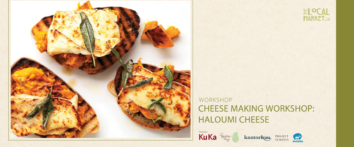 CHEESE MAKING WORKSHOP: HALOUMI CHEESE