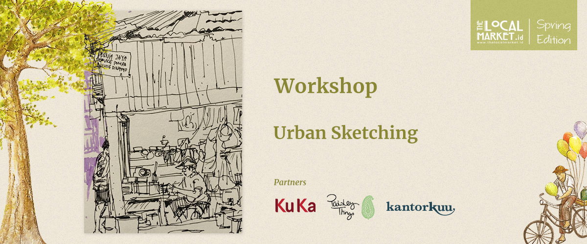 URBAN SKETCHING WORKSHOP (SESSION 1)