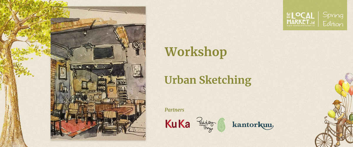 URBAN SKETCHING WORKSHOP (SESSION 2)