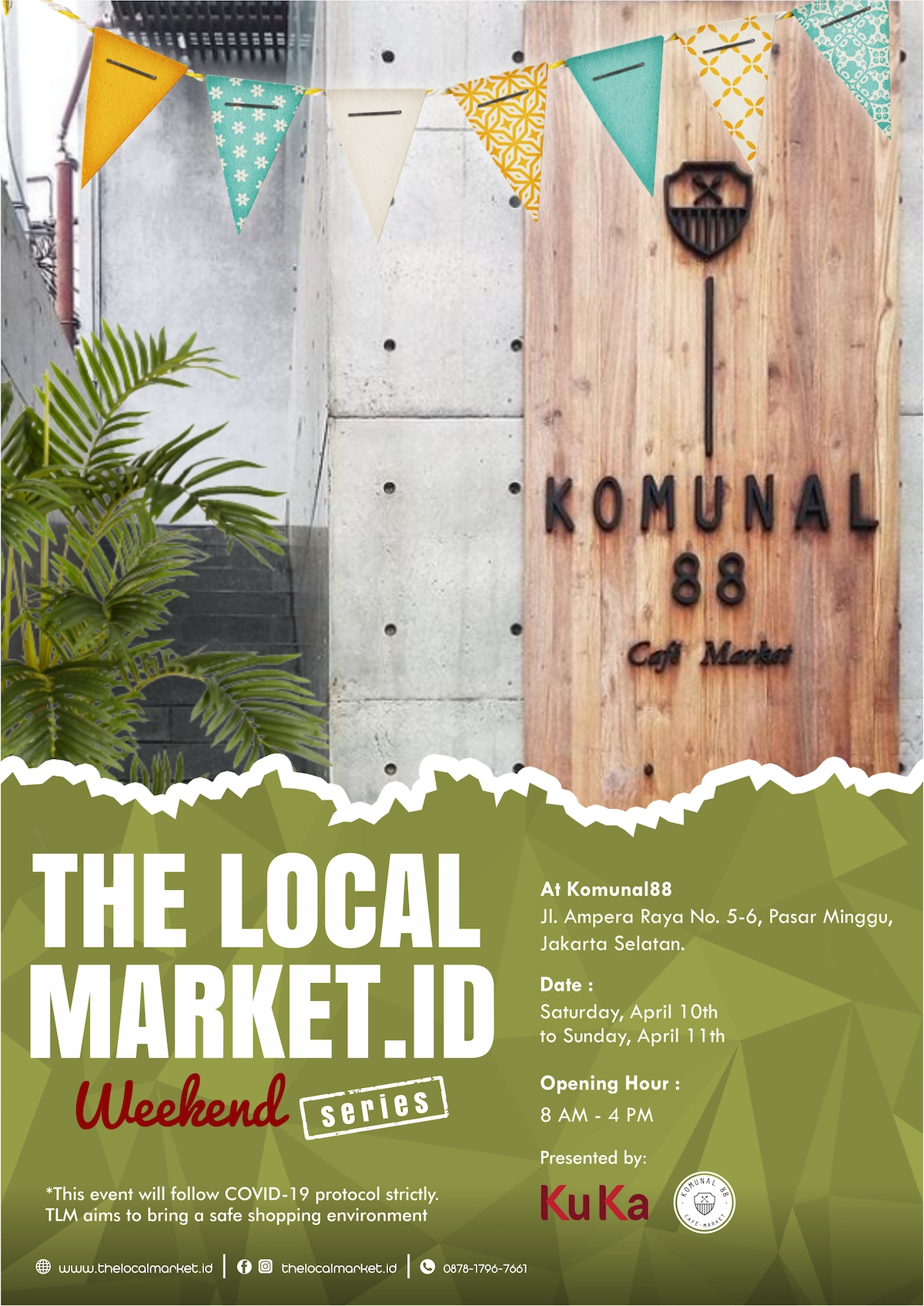 The Local Market - Weekend Series (April 2021)